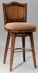 "Traditional Swivel Bar Stool - Bourbon Street ""Yorktown Cherry"" - Powell Furniture - 579-729"