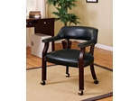 Traditional Upholstered Guest Chair with Nailhead Trim - 515K