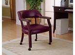 Traditional Upholstered Guest Chair with Nailhead Trim - 515X