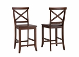 Traditions Bar Stool in Cherry - Home Styles - 5005-89