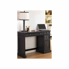 Traditions Black Utility Desk with Black Granite Top - Home Styles - HS-5003-794