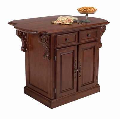 Traditions Kitchen Island in Cherry - Home Styles - 5005-94