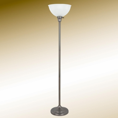 Transitional Gun Metal Floor Lamp - 901195