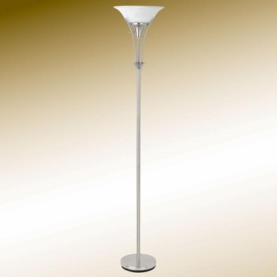 Transitional Silver Floor Lamp - 901193
