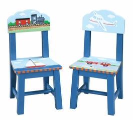 Transportation Extra Chairs (Set of 2) - Guidecraft - G85303