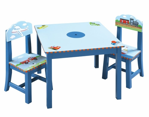 Transportation Table and Chair Set - Guidecraft - G85302
