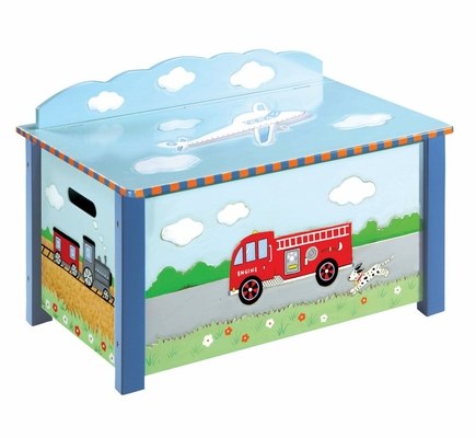 Transportation Toy Box - Guidecraft - G85304