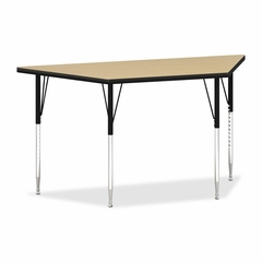 Trapezoid Tables - Natural Maple/Black - HONEST3060LDP