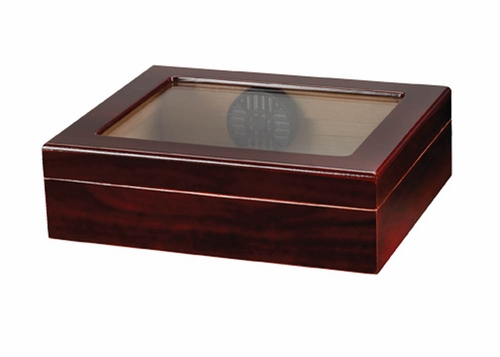 Traveler 20 Cigar Humidor in Cherry - HUM-TR20G-C