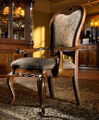 Traviata Arm Chair (Set of 2) - Largo Furniture - D121A-42-SET