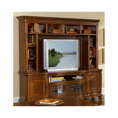 Traviata HDTV Console Base with Hutch Umbria - Largo - LARGO-WG-HD121BBBH