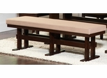 Travis Contemporary Upholstered Dining Bench - 104083