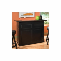 Trenton Black Fridge Bar - American Hertiage - AH-600037BLK-RF