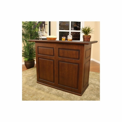 Trenton Suede Fridge Bar - American Hertiage - AH-600037SD-RF