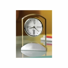 Tribeca Alarm Clock with Quartz Movement - Howard Miller