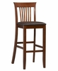 "Triena Craftsman Bar Stool 30"" - Linon Furniture - 01858DKCHY-01-KD-U"