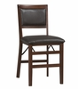 Triena Pad Back Folding Chair (Set of 2) - Linon Furniture - 01823ESP-02-AS-U