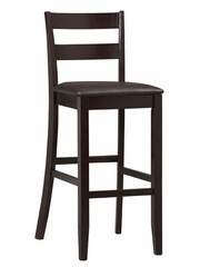 "Triena Soho Bar Stool 30"" - Linon Furniture - 01867ESP-01-KD-U"