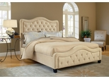 Trieste King Size Fabric Bed - Hillsdale Furniture - 1566BKRT