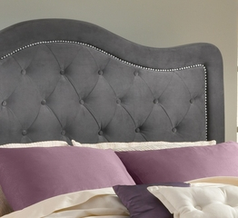 Trieste King Size Fabric Headboard with Frame - Hillsdale Furniture - 1638HKRT