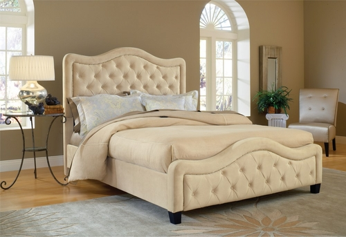 Trieste Queen Size Fabric Bed - Hillsdale Furniture - 1566BQRT
