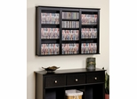 Triple Floating Wall Storage in Black - Prepac Furniture - BFW-0523