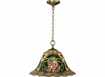 Triple Rose Tiffany Hanging Fixture - Dale Tiffany