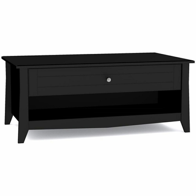 Tuxedo Coffee Table with 1 Extra Wide Drawer - Nexera Furniture