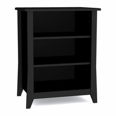 Tuxedo Stereo Cabinet - 3 Shelves & Wire Management - Nexera Furniture