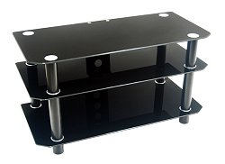 TV Stand - 42 Inch Contempo TV Stand in Black - V42Y79B