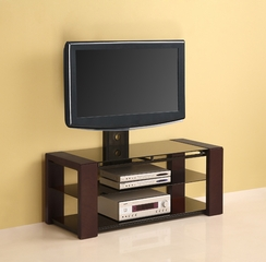 TV Stand - 48 Inch Cayenne TV Stand with Removable Mount in Espresso - V48EC1ES