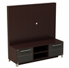TV Stand for Plasma, DLP and LCD TVs and Support Panel - Brooklyn Collection - Nexera Furniture - 400052