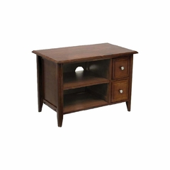 TV Stand in Antique Walnut - Winsome Trading - 94233