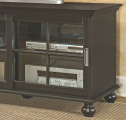 TV Stand in Black - Bradford Place - Inspirations by Broyhill - 433-065