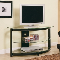 TV Stand in Black - Coaster - COAST-17006141