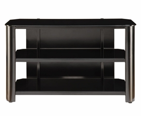 TV Stand in Black Glass - Innovex - TPT42G29