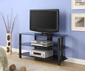 TV Stand in Black - Innovex - TC280G29
