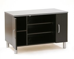 TV Stand in Black Onyx/Charcoal - South Shore Furniture - 3127605