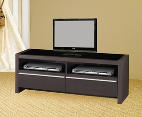 TV Stand in Cappuccino - Coaster