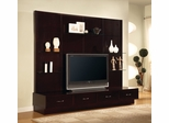 TV Stand in Cappuccino - Coaster - COAST-17001851