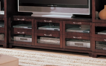 TV Stand in Cappuccino - Coaster - COAST-17006081