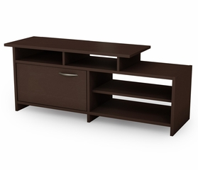 TV Stand in Chocolat - Step One - South Shore Furniture - 3159661C