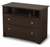 TV Stand in Chocolate - Vito - South Shore Furniture - 3119043