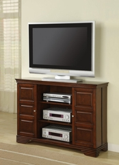 TV Stand in Dark Brown - Coaster