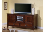 TV Stand in Dark Oak - Coaster