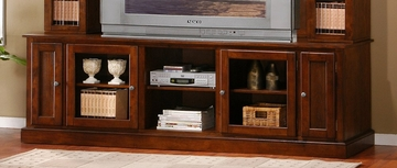 TV Stand in Merlot Oak - Coaster