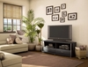 TV Stand in Solid Black - South Shore Furniture - 4270662