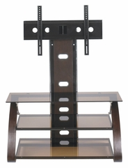 TV Stand - Keira Flat Panel TV Stand with Integrated Mount - Z-Line Designs - ZL568-44MIVU