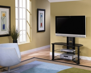 TV Stand - Madrid Flat Panel TV Stand with Integrated Mount - Z-Line Designs - ZL541-44MU