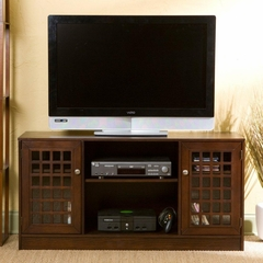 TV Stand - Reston Espresso Media Stand - Holly and Martin